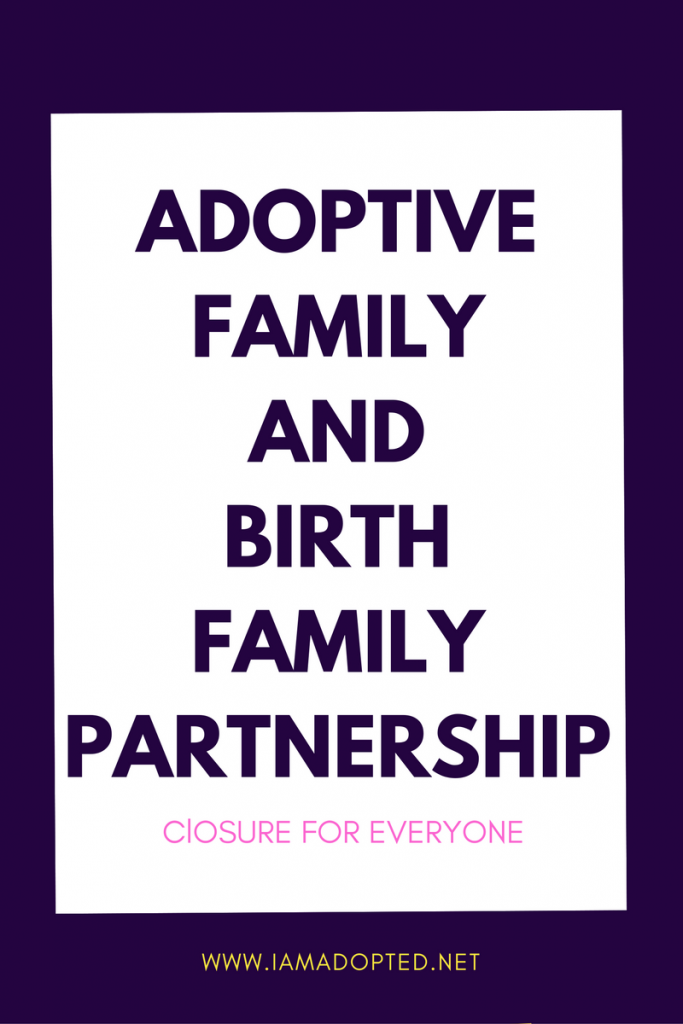Adoptive Family and Birth Family Partnership