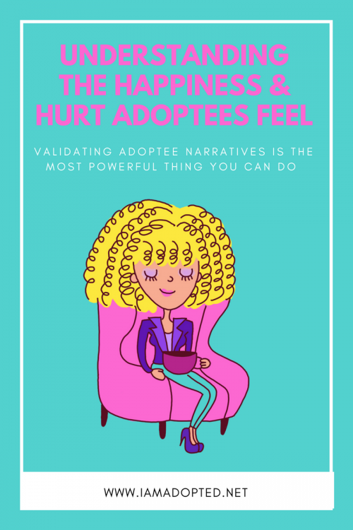 There are a number factors that vary that can make adoptees experience either positive or negative or both. Those factors include—open adoption or closed adoption, whether the adopted child has a relationship with their birth family or not, if the adopted child has received counseling, how educated their adoptive parents are in adoption trauma, and how supportive adoptive parents are of their adopted child's desires, thoughts, and feelings as an adoptee.