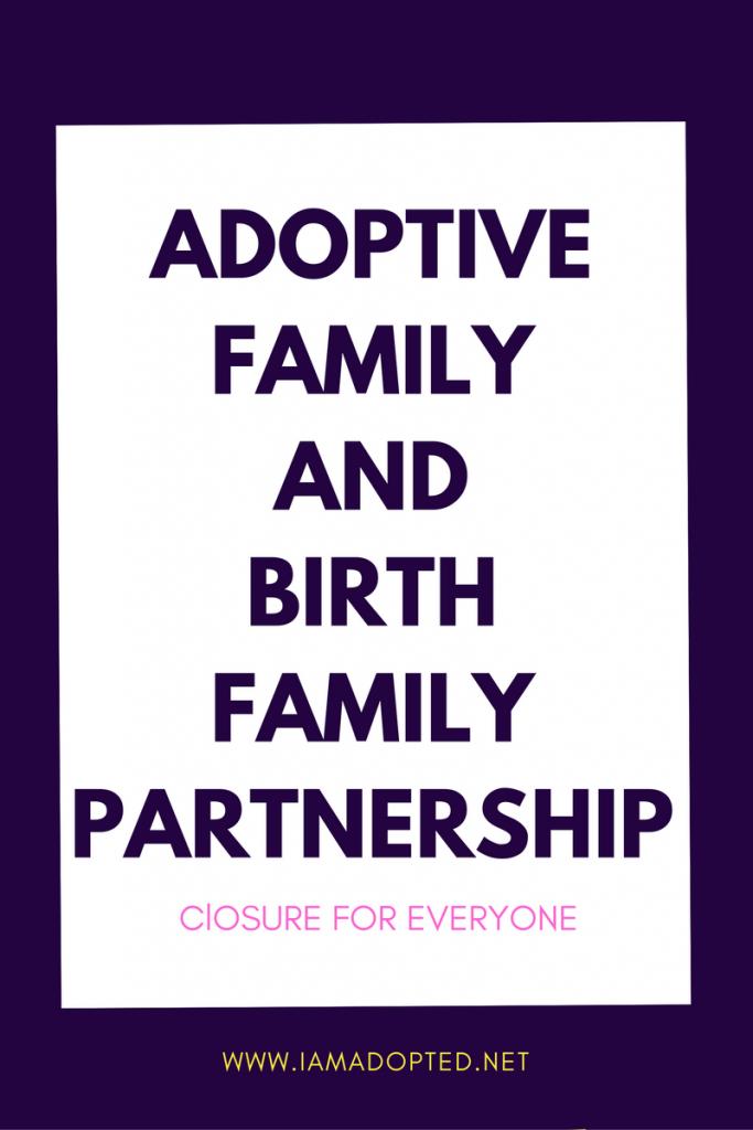 Adoptive Family and Birth Family Partnership