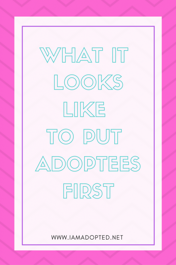 If Adoption Was About the Child